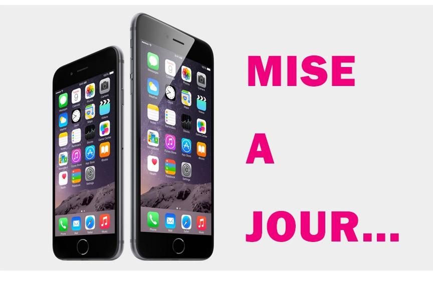 Mise à jour iPhone 6
