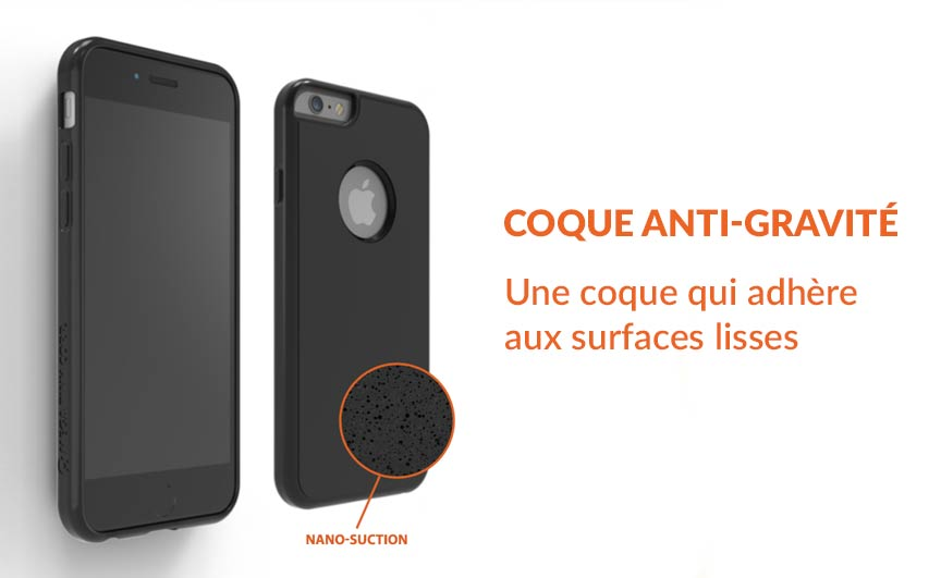 coque iphone x gravite