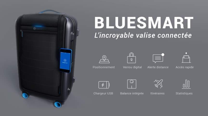 bluesmart valise