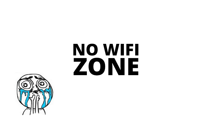 no wifi zone
